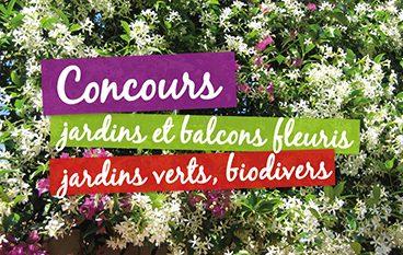 Concours jardins et balcons