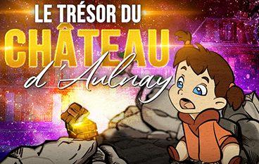 """Chasse au trésor """"Le trèsor du château d'Aulnay"""" du 23 octobre au 5 novembre 2021"""